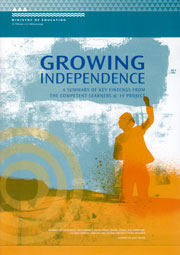 Growing independence : A summary of key findings from the Competent Learners @14 project