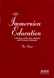Benefits of immersion education