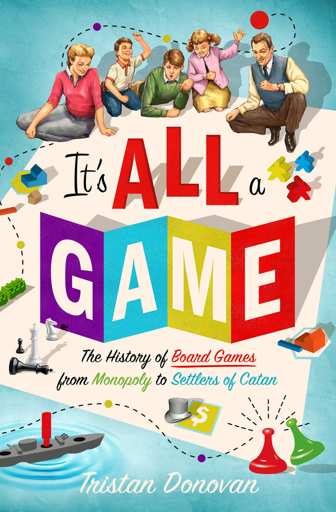 Cover image of It's All a Game book