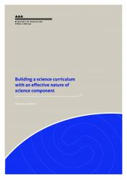 Building a science curriculum with an effective nature of science component