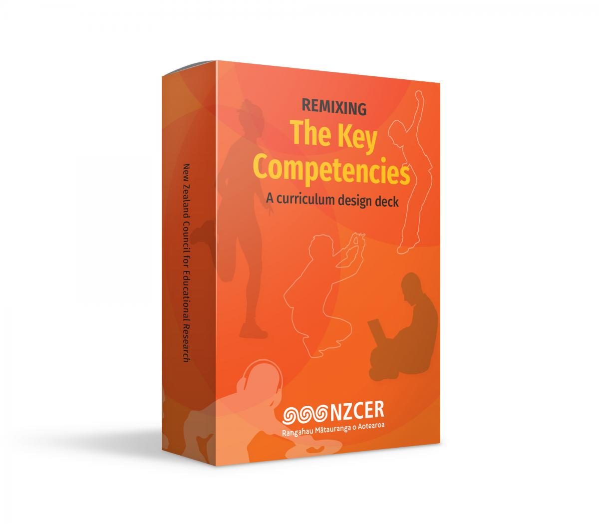 The Key Competencies design deck packaging