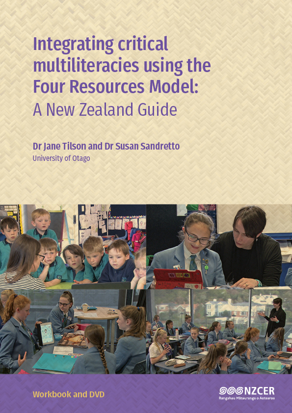 Cover of Integrating critical multiliteracies using the Four Resources Model