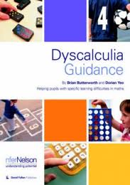 Cover of Dyscalculia Guidance book