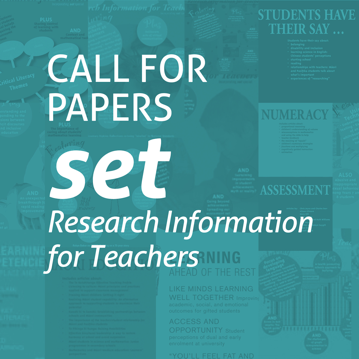 Call for abstracts for set journal
