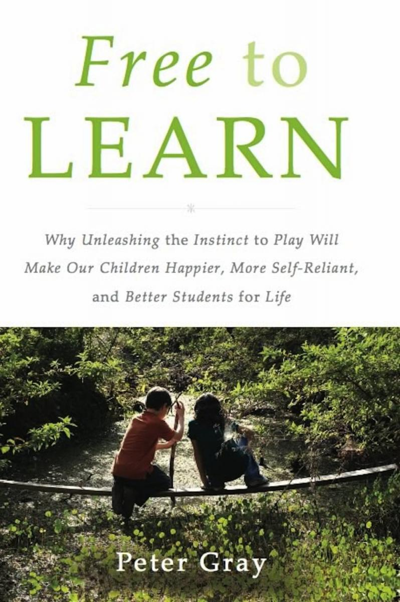 Cover of Free to Learn book
