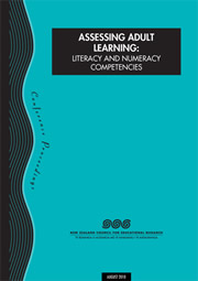 Assessing Adult Learning: Literacy and Numeracy Competencies: Conference Proceedings, 2010