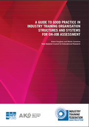 A Guide to Good Practice in ITO Structures and Systems for On-Job Assessment