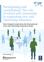 Participating and contributing? The role of school and community in supporting civic and citizenship education