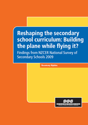Reshaping the secondary school curriculum: Building the plane while flying it?
