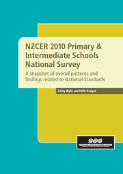 NZCER 2010 Primary & Intermediate Schools National Survey