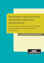 The primary school curriculum: Assimilation, adaptation, transformation