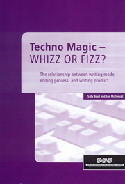 Techno magic - whizz or fizz?: The relationship between writing mode, editing process, and writing product