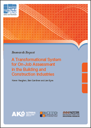 A Transformational System for On-Job Assessment in the Building and Construction Industries